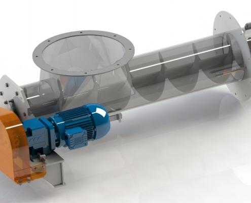 Fuellereintragschnecke - RODO Construction GmbH